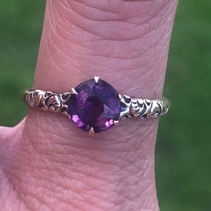 Jewelry - Antique Victorian 10k Gold Amethyst Ring